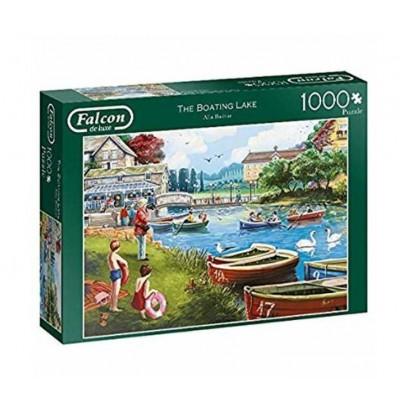 Puzzle Jumbo-11252 The Boating Lake