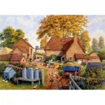 Puzzle  Jumbo-11274 Autumn on the Farm