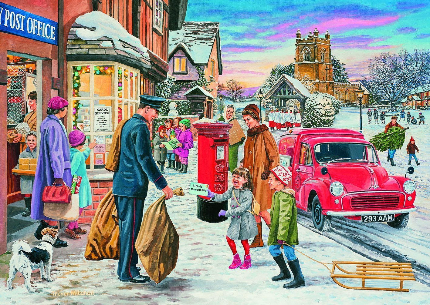 Adult Christmas Puzzles
