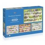 4 Puzzles - Woodland Seasons