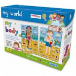 Gibsons-G1014 Jigsaw Puzzles - 2 in 1 - The Human Body