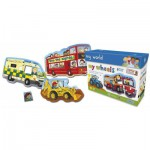 Gibsons-G1022 8 Puzzles -Vehicles