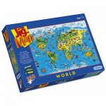 Puzzle  Gibsons-G1050 Map of the world