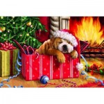 Puzzle  Gibsons-G1114 XXL Pieces - Christmas Snooze