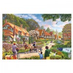 Puzzle  Gibsons-G2208 XXL Jigsaw Pieces - Rural Life