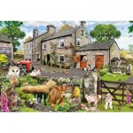 Puzzle  Gibsons-G2217 XXL Pieces - Howard Robinson - Farmyard Friends