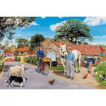 Puzzle  Gibsons-G2218 XXL Pieces - Trevor Mitchell - Olive House Farm