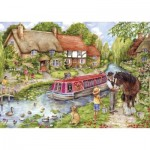 Puzzle  Gibsons-G2219 XXL Pieces - Drifting Downstream