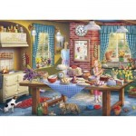 Puzzle  Gibsons-G2220 XXL Pieces - Sneaking a Slice