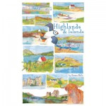 Puzzle  Gibsons-G2515 Emma Ball: Highlands & Islands