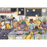 Puzzle  Gibsons-G2706 XXL Pieces - Linda Jane Smith: Barks Cafe