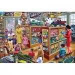 Puzzle  Gibsons-G2707 XXL Pieces - Steve Crisp: The Toy Shop