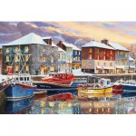 Puzzle  Gibsons-G2708 XXL Pieces - Padstow in Winter