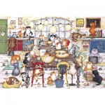 Puzzle  Gibsons-G2712 XXL Pieces - Cat's Cookie Club