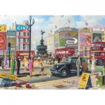 Puzzle  Gibsons-G2716 XXL Pieces - Piccadilly
