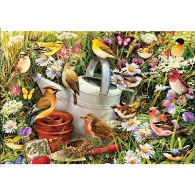 Gibsons-G3033 Jigsaw Puzzle - 500 Pieces - A Piece of Garden