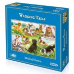 Gibsons-G3035 Jigsaw Puzzle - 500 Pieces - Our Dog Friends
