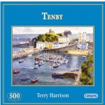 Gibsons-G3038 Jigsaw Puzzle - 500 Pieces - Tenby, Wales