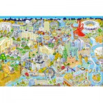 Gibsons-G3052 Jigsaw Puzzle - 500 Pieces : London from Above