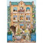 Puzzle  Gibsons-G3094 Lesley Anne Ivory: Peeping Tom