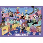 Puzzle  Gibsons-G3131 Rebel Girls