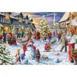 Puzzle  Gibsons-G3409 Marcello Corti - A White Christmas