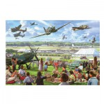 Puzzle  Gibsons-G3510 XXL Jigsaw Pieces - Steve Crisp: The Airshow