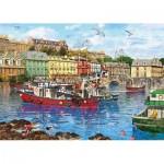 Puzzle  Gibsons-G3519 XXL Pieces - Dominic Davidson - Cobh Harbour
