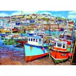 Puzzle  Gibsons-G3525 XXL Pieces - Mevagissey Harbour
