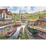 Puzzle  Gibsons-G3528 XXL Pieces - Ye Old Mill Tavern