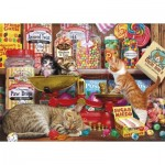 Puzzle  Gibsons-G3529 XXL Pieces - Paw Drops & Sugar Mice