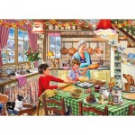 Puzzle  Gibsons-G3532 XXL Pieces - Christmas Treats