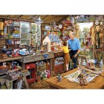 Puzzle  Gibsons-G3533 XXL Pieces - Grandad's Workshop
