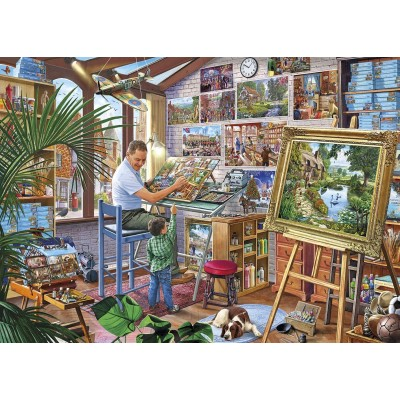 Puzzle Gibsons-G3542 XXL Pieces - A Work of Art