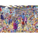 Puzzle  Gibsons-G3545 XXL Pieces - The Old Sweet Shop