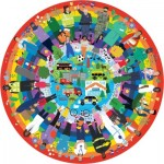 Puzzle  Gibsons-G3701 Rainbow Heroes in aid of Samaritans