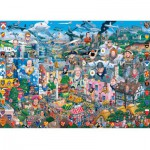 Gibsons-G469 Jigsaw Puzzle - 1000 Pieces - I love Great Britain