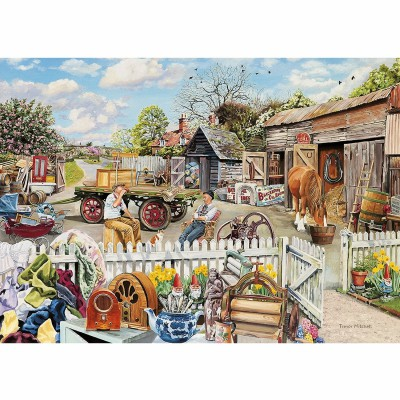 Gibsons-G5018 Jigsaw Puzzle - 4 x 500 Pieces : Rag and Bone