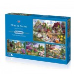 Gibsons-G5025 4 Puzzles - John Francis