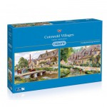 Gibsons-G5028 2 Jigsaw Puzzles - Terry Harrison : Cotswold villages