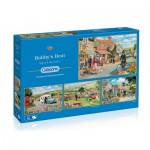Gibsons-G5033 4 Jigsaw Puzzles - Trevor Mitchell: Bobby's Beat