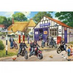 Gibsons-G5036 2 Jigsaw Puzzles - Mods and Rockers