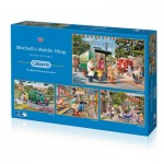 Gibsons-G5040 4 Jigsaw Puzzles - Trevor Mitchell - Mitchell's Mobile Shop