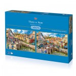 Gibsons-G5041 2 Jigsaw Puzzles - Marcello Corti: Then & Now