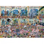 Gibsons-G514 Jigsaw Puzzle - 1000 Pieces - I love Animals
