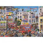 Gibsons-G579 Jigsaw Puzzle - 1000 Pieces - I love London