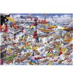 Gibsons-G591 Jigsaw Puzzle - 1000 Pieces - Mike Jupp : I Love Boats