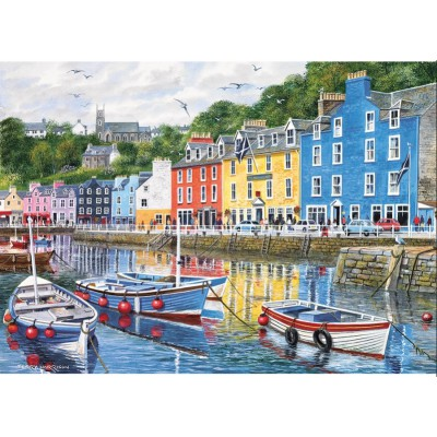 Gibsons-G6058 Jigsaw Puzzle - 1000 Pieces - Fishing Port