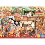 Gibsons-G6108 Jigsaw Puzzle - 1000 Pieces : A Lost Stitch