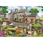 Puzzle  Gibsons-G6144 Farmyard Friends